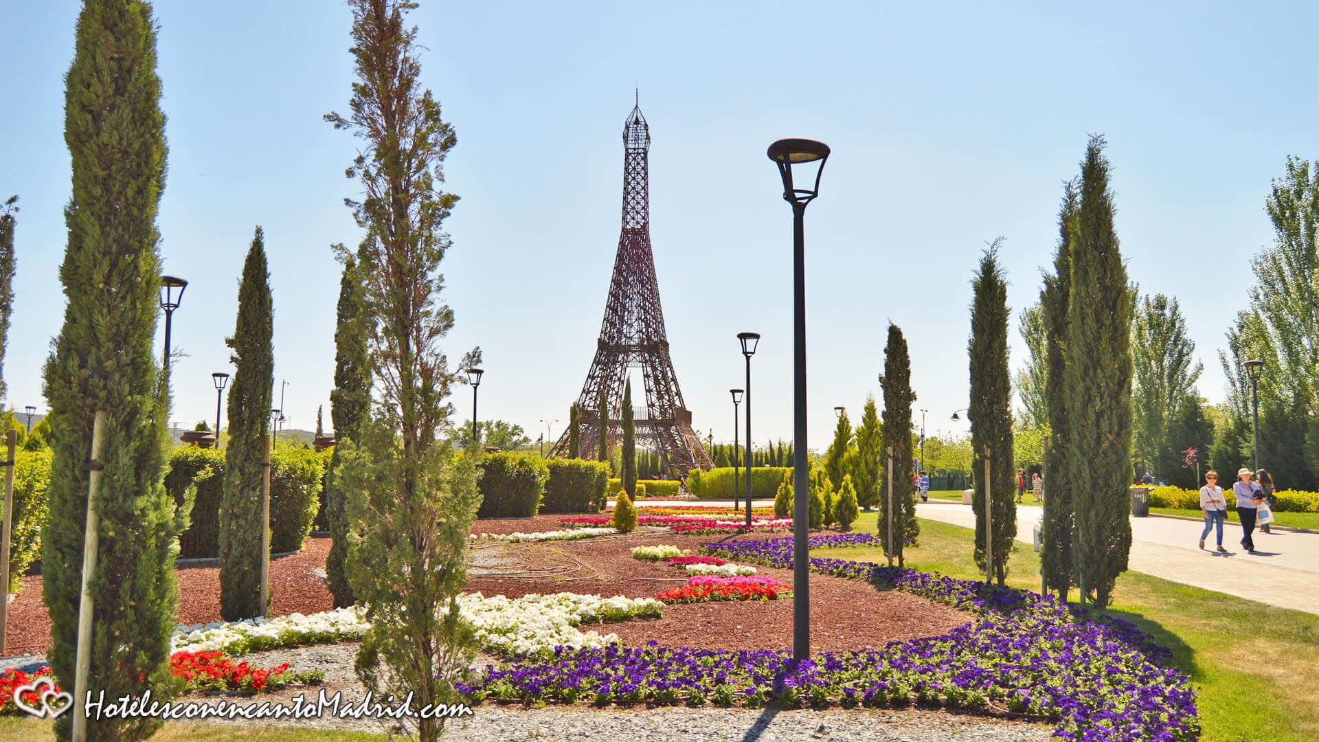 Parque Europa Madrid - Torre Eiffel Madrid