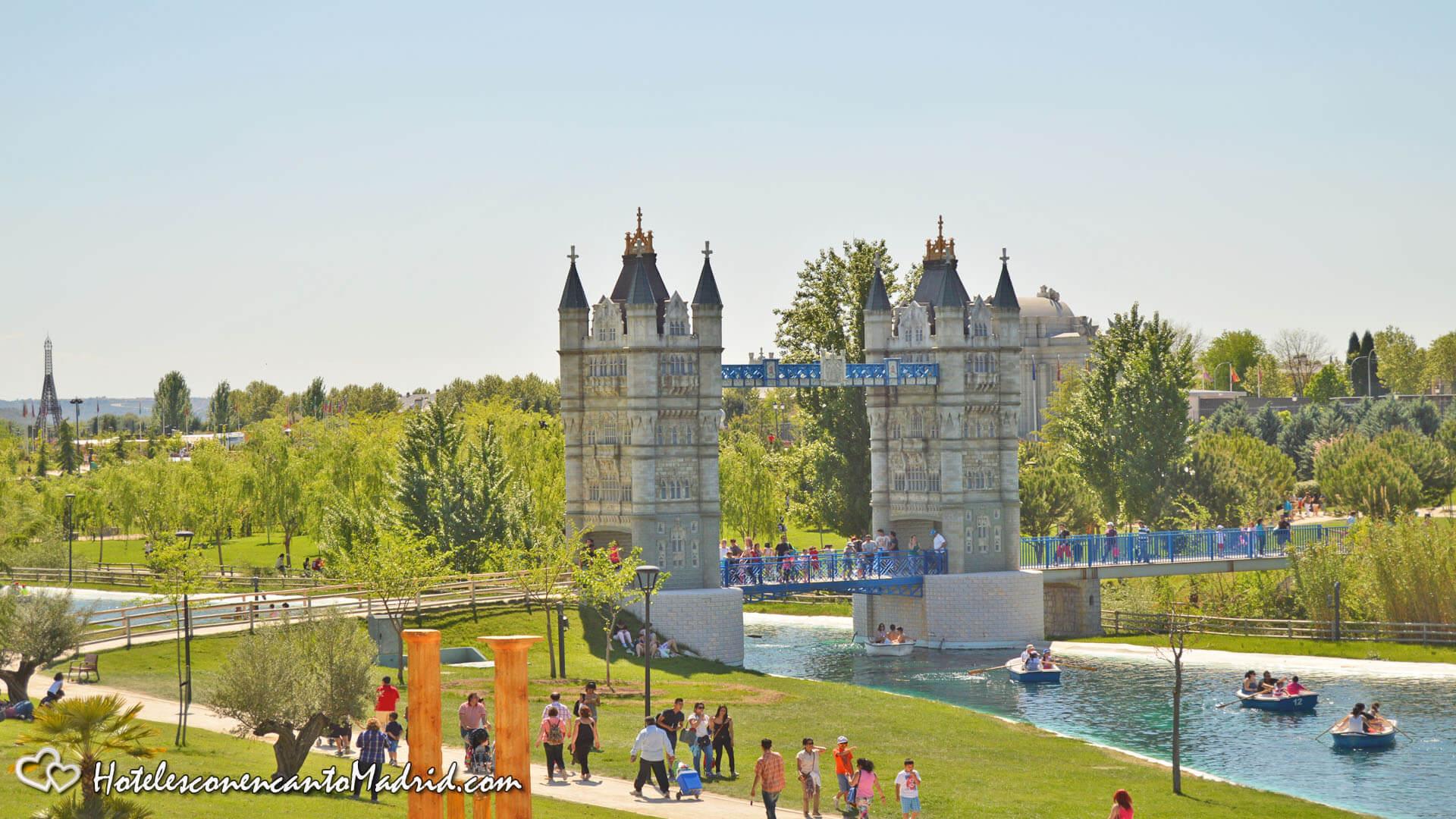 Parque Europa Madrid - Puente de Londres