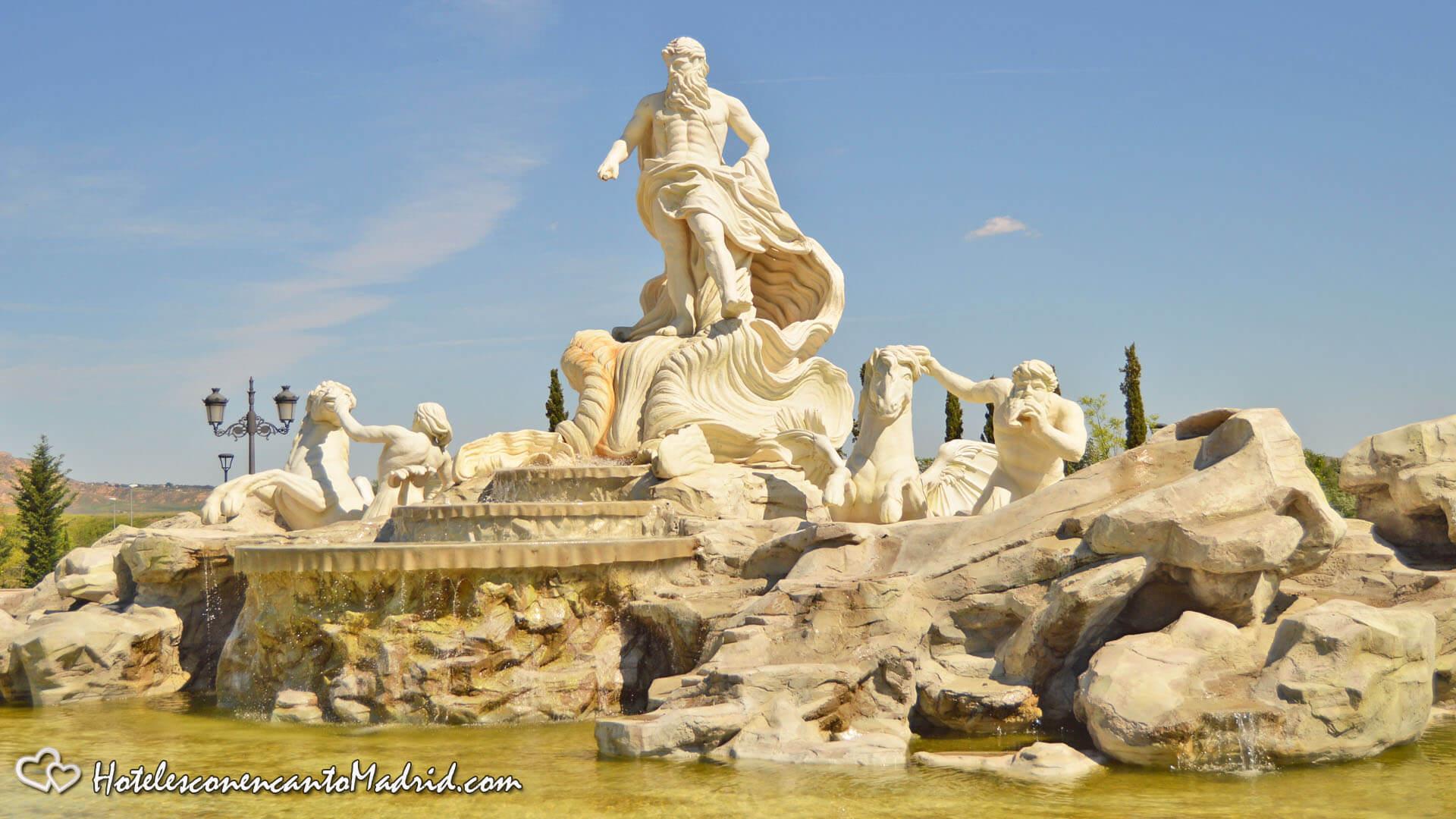 Parque Europa Madrid - Fontana di Trevi