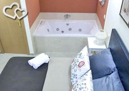 habitacion con jacuzzi en madrid