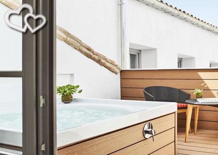 hoteles con habitacion con jacuzzi en madrid