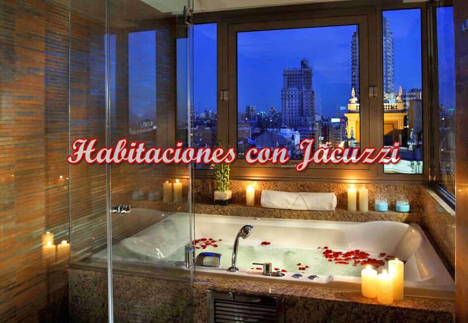 hoteles con habitaciones con jacuzzi privado en Madrid