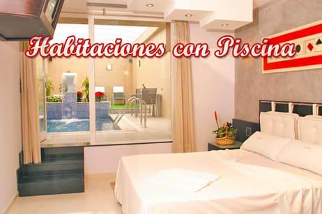 hoteles con habitaciones con piscina privada en Madrid