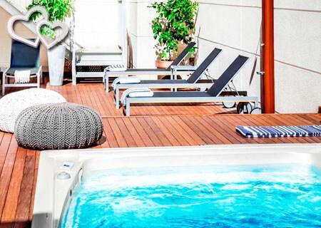 los mejores hoteles con jacuzzi de Madrid