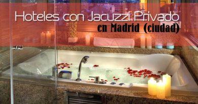 Hoteles con Jacuzzi en la habitación en Madrid